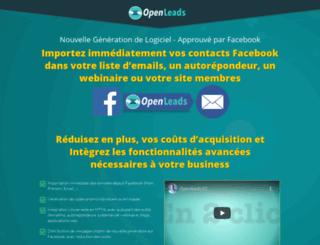 openleads.fr screenshot