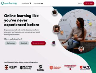 openlearning.com screenshot