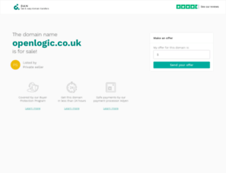 openlogic.co.uk screenshot
