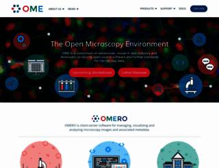 openmicroscopy.org screenshot