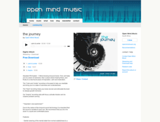 openmindmusic.bandcamp.com screenshot