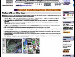 openmtbmap.org screenshot