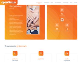 opennexus.pl screenshot