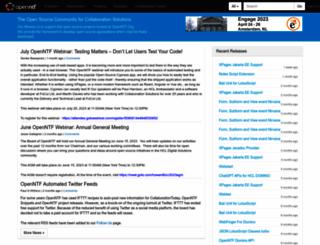 openntf.org screenshot