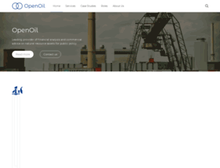 openoil.net screenshot