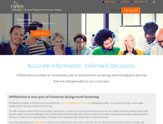 openonline.com screenshot