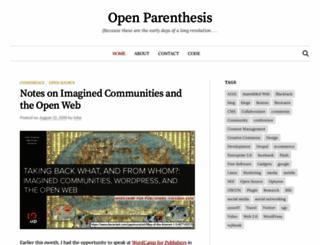openparenthesis.org screenshot