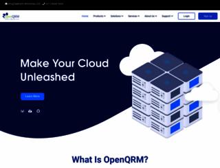 openqrm.com screenshot