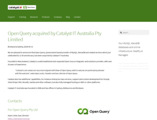openquery.com.au screenshot