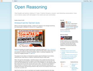 openreasoning.blogspot.com screenshot