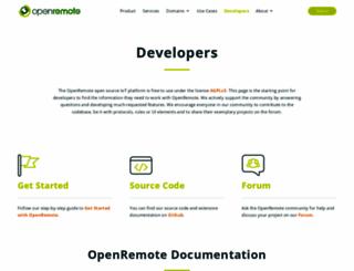 openremote.org screenshot