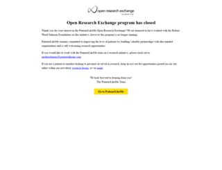 openresearchexchange.com screenshot