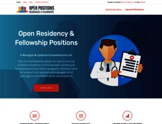 openresidencypositions.com screenshot