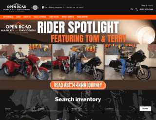 openroadhd.com screenshot