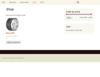 openroadtires.com screenshot