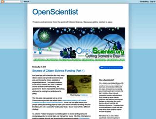 openscientist.org screenshot