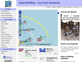 openseamap.org screenshot