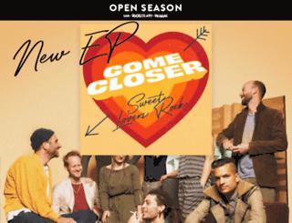 openseason.ch screenshot