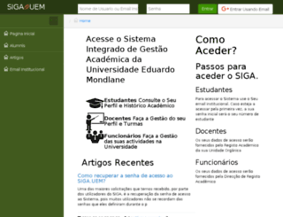 opensga.org screenshot