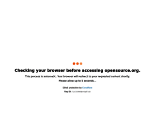 opensource.org screenshot