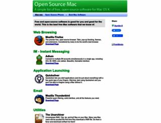 opensourcemac.org screenshot