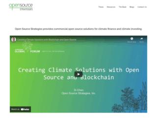 opensourcestrategies.com screenshot