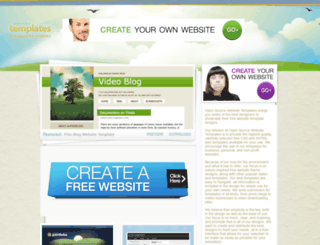 opensourcetemplates.org screenshot