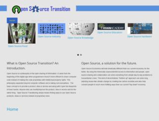 opensourcetransition.org screenshot