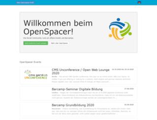 openspacer.org screenshot