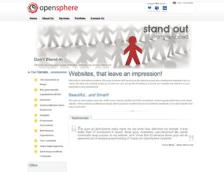 openspherebpo.com screenshot