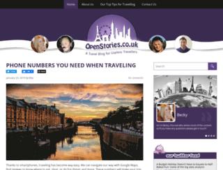 openstories.co.uk screenshot