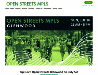 openstreetsmpls.org screenshot