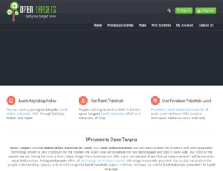 opentargets.com screenshot