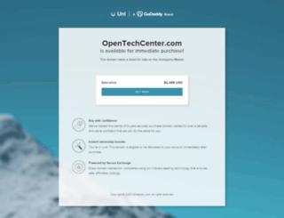 opentechcenter.com screenshot