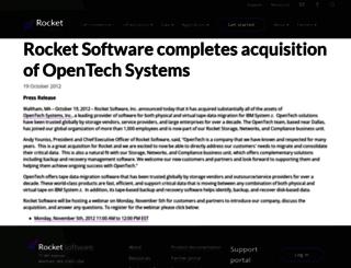 opentechsystems.com screenshot
