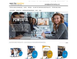 openthemeeting.com screenshot
