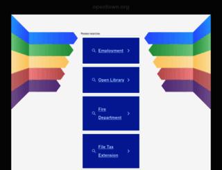 opentown.org screenshot