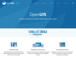openui5.org screenshot