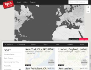 openvectormaps.com screenshot