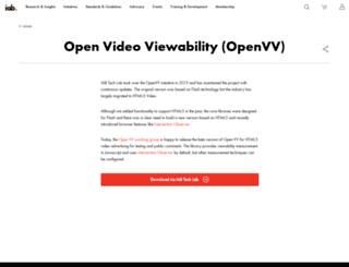 openvv.org screenshot