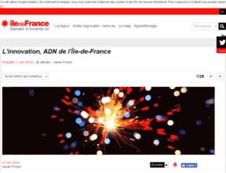 openweek.iledefrance.fr screenshot
