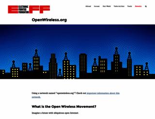 openwireless.org screenshot