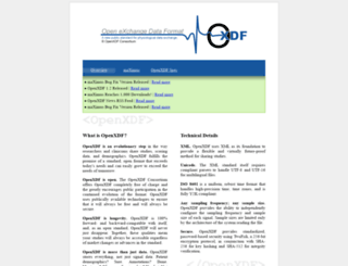 openxdf.org screenshot