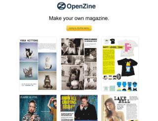 openzine.com screenshot
