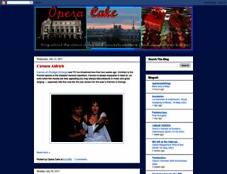opera-cake.blogspot.com screenshot