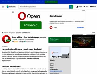 opera-mini.softonic.fr screenshot