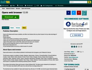 opera-web-browser-for-windows.soft112.com screenshot