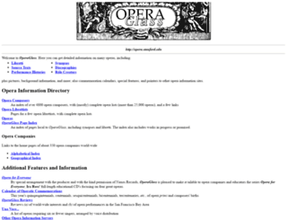 opera.stanford.edu screenshot