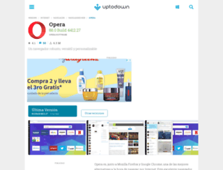 opera.uptodown.com screenshot