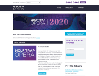 opera.wolftrap.org screenshot